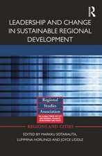 Leadership and Change in Sustainable Regional Development