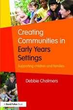 Creating Communities in Early Years Settings