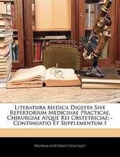 LITERATURA MEDICA DIGESTA SIVE REPERTORI
