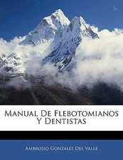 Manual De Flebotomianos Y Dentistas
