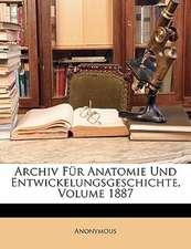 ARCHIV F R ANATOMIE UND ENTWICKELUNGSGES