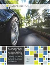 Managerial Accounting (Global Ed)