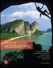 Survey of Accounting (Int'l Ed)