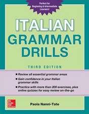 Italian Grammar Drills, Third Edition