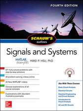 Schaum's Outline of Signals and Systems, Fourth Edition