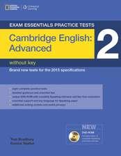 Exam Essentials:  Cambridge Advanced Practice Tests 2 W/O Key + DVD-ROM