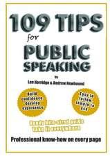 109 Tips for Public Speaking