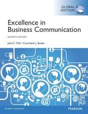 Excellence in Business Communication with MyBcommLab