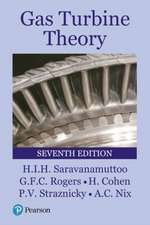 Cohen, H: Gas Turbine Theory