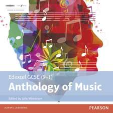 Winterson, J: Edexcel GCSE (9-1) Anthology of Music CD