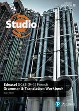 Studio Edexcel GCSE French Grammar and Translation Workbook