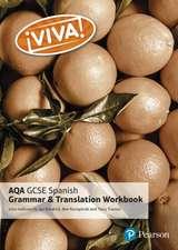 Viva! AQA GCSE Spanish Grammar and Translation Workbook