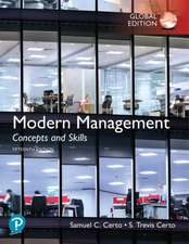 Modern Management: Concepts and Skills, Global Edition