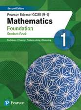 Pearson Edexcel GCSE (9-1) Mathematics Foundation Student Book 1