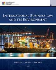 Schaffer, R: International Business Law and Its Environment