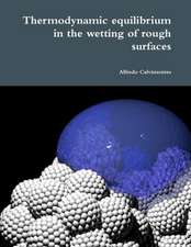 Thermodynamic Equilibrium in the Wetting of Rough Surfaces