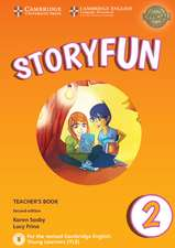 Storyfun for Starters Level 2 Teacher's Book with Audio
