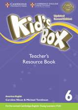 Kid's Box Level 6 Teacher's Resource Book with Online Audio American English