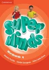 Super Minds Level 4 Wordcards (Pack of 89)