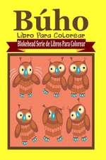 Buho Libro Para Colorear