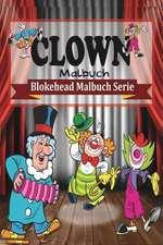 Clown Malbuch