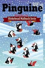 Pinguine Malbuch