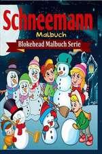Schneemann Malbuch