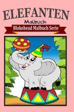 Elefanten Malbuch