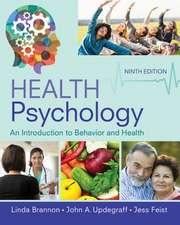 Brannon, L: Health Psychology