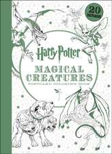 Cărți poștale de colorat Harry Potter Magical Creatures : Postcard Colouring Book