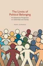 The Limits of Political Belonging: An Adaptionist Perspective on Citizenship and Society