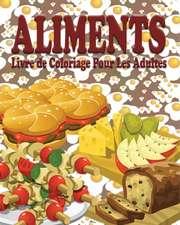 Aliments Livre de Coloriage Pour Les Adultes