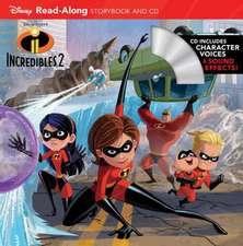 Incredibles 2 Read-along Storybook And Cd