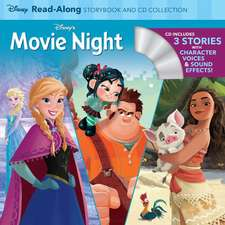 Disney's Movie Night Read-Along Storybook and CD Collection: 3-in-1 Feature Animation Bind-Up