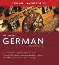 Ultimate German Beginner-Intermediate (PKG)
