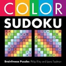 Color Sudoku:  Brainfreeze Puzzles