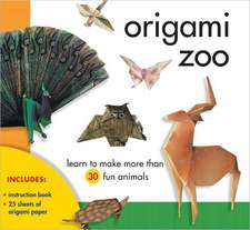 Origami Zoo:  Learn to Make More Than 30 Fun Animals [With 25 Sheets]