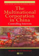 The Multinational Corporation in China: Controlling Interests