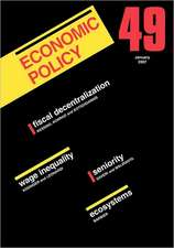 Economic Policy 49