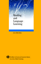 Reading and Language Learning