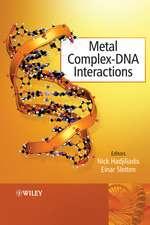 Metal Complex – DNA Interactions