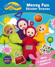 Teletubbies: Messy Fun Sticker Scenes