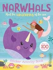 Narwhals: Sticker Activity Book