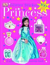 Princess Glitter Stickers