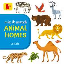 Mix And Match - Animal Homes