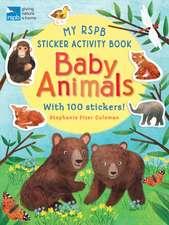 My RSPB Sticker Activity Book: Baby Animals