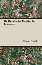 On Quantitative Thinking in Economics:  Old Mortality