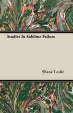 Studies in Sublime Failure:  The Life of Louis Agassiz