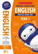 National Curriculum English Practice Book for Year1