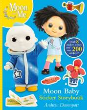 MOON BABY STORY STICKER STORYBOOK